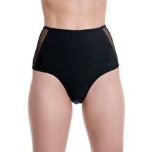 Body Talk Γυναικείο ψηλόμεσο bottom μαγιό 1201-908044 black